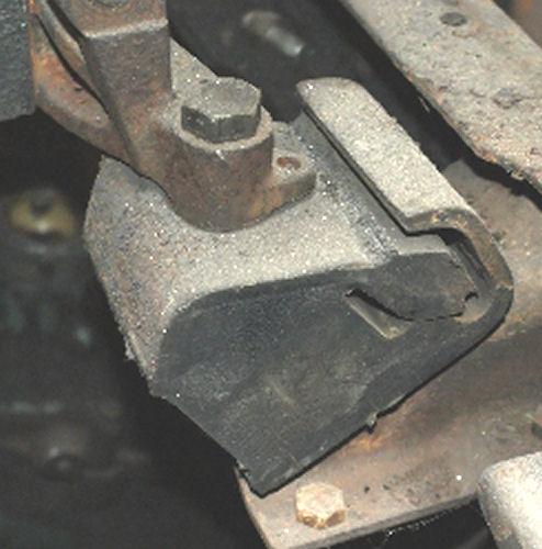 Voorste motorrubber OM314, zie ook nieuw 30.24.014