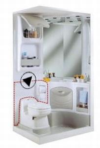 64224 Achterwand toilet