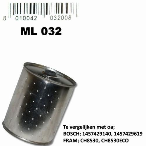 ML032 Oliefilter  (1457429175)