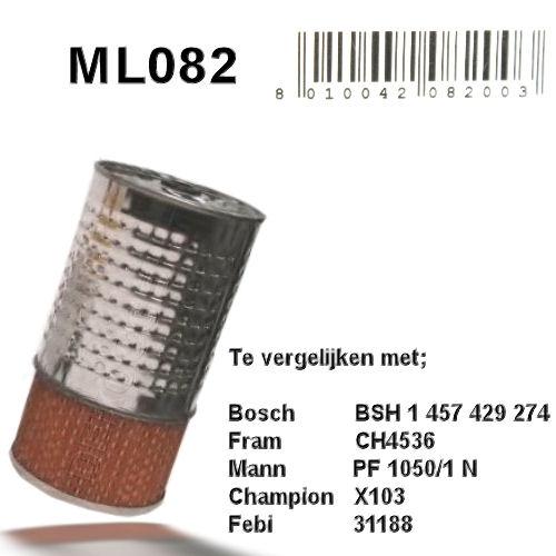 ML082 Oliefilter  (1457429274)