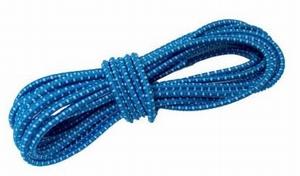 44215 Gummiekoord 8mm Blauw/wit