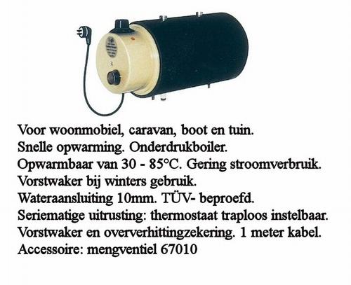 67005 Eigena Electro boiler 3L 230V/660W