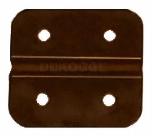 250/150 Scharnier PVC Bruin