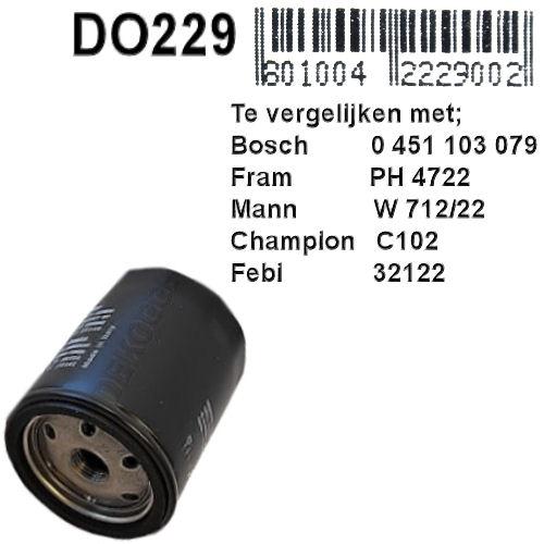 DO229 Oliefilter  (0451103079)