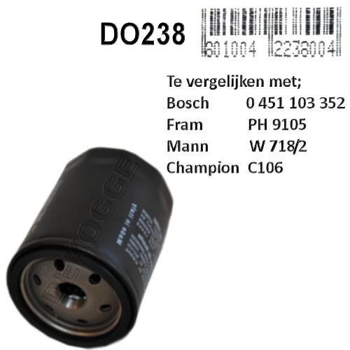 DO238 Oliefilter  (0451103351)
