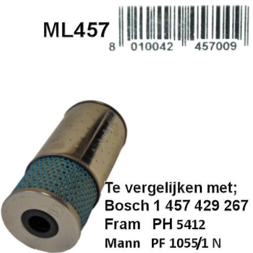 ML457 Oliefilter  (1457429267)
