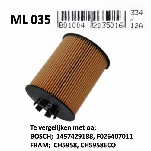 ML035 Oliefilter  (F026407015)