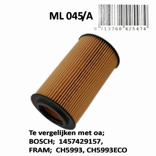 ML045A Oliefilter  (1457437002)