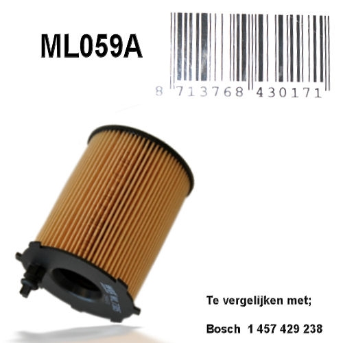 ML059A Oliefilter  (1457429238)