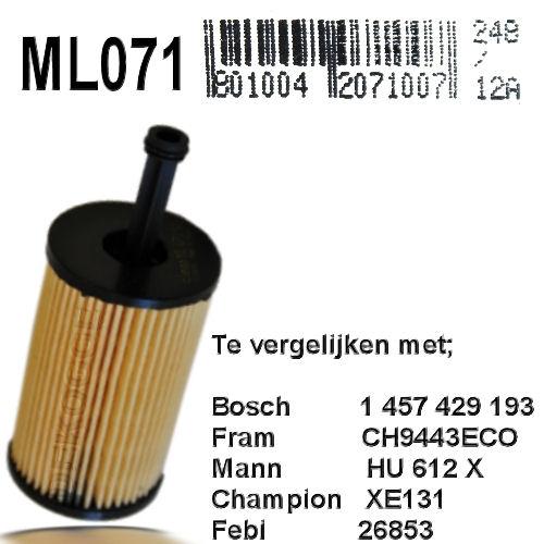 ML071 Oliefilter  (1457429193)