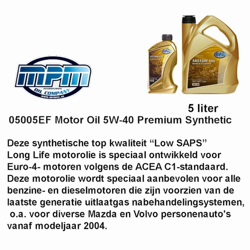 05005 EF Motorolie 5W - 30  MPM