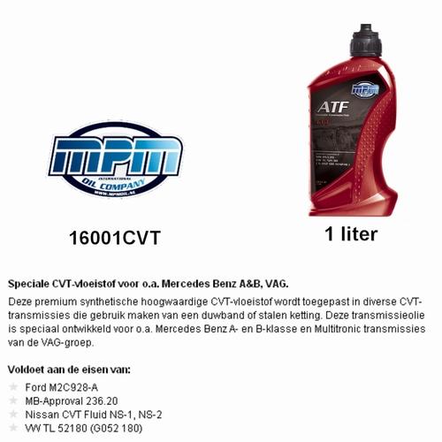 16001CVT Transmissie olie MPM