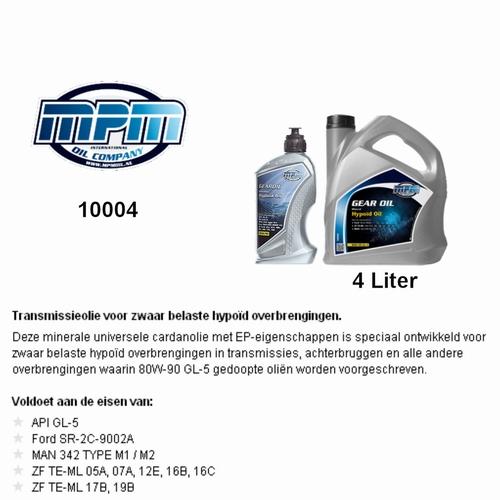 10004 Transmissie olie MPM