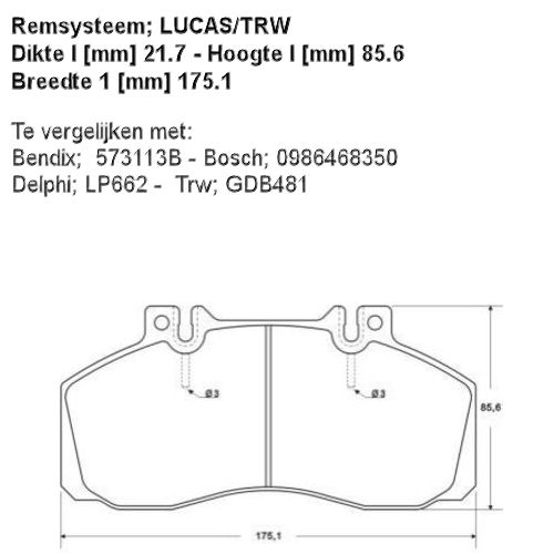 36565 Remblokset  ABS  (1617247780)