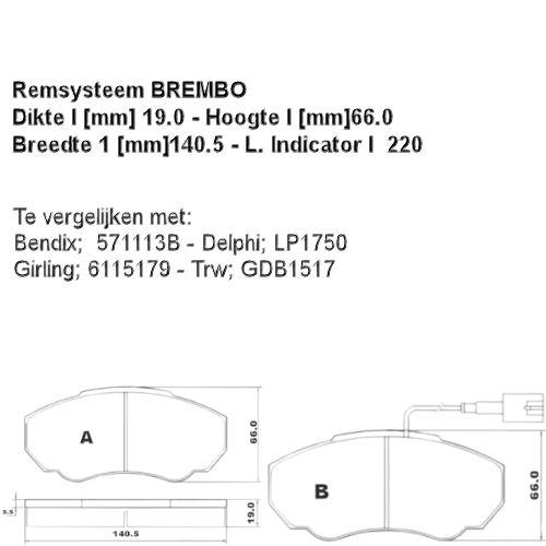 37331 Remblokset  (0986494048)