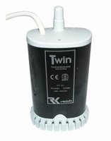 62064 Twin waterpomp 19l