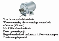 67045 Truma Therme  TT-2 5Liter warme lucht