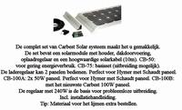851070 Carbest Solarsystem CB200