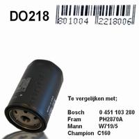 DO218 Oliefilter