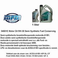 04001 E Motorolie 5W - 30  Semi syntetisch MPM 1 liter