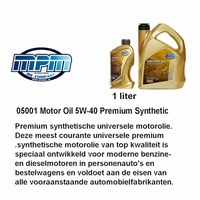 05001 Motorolie 5W- 40 MPM