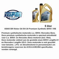 05005 BM Motorolie 5W- 30 MPM
