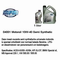 04001 Motorolie 10W40 MPM