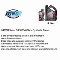 04005D Motorolie 10W40 MPM