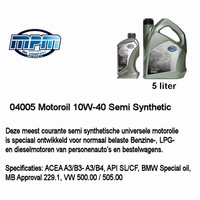 04005 Motorolie 10W40 MPM