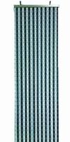 912244 Horgordijn grijs/blauw 100x220cm